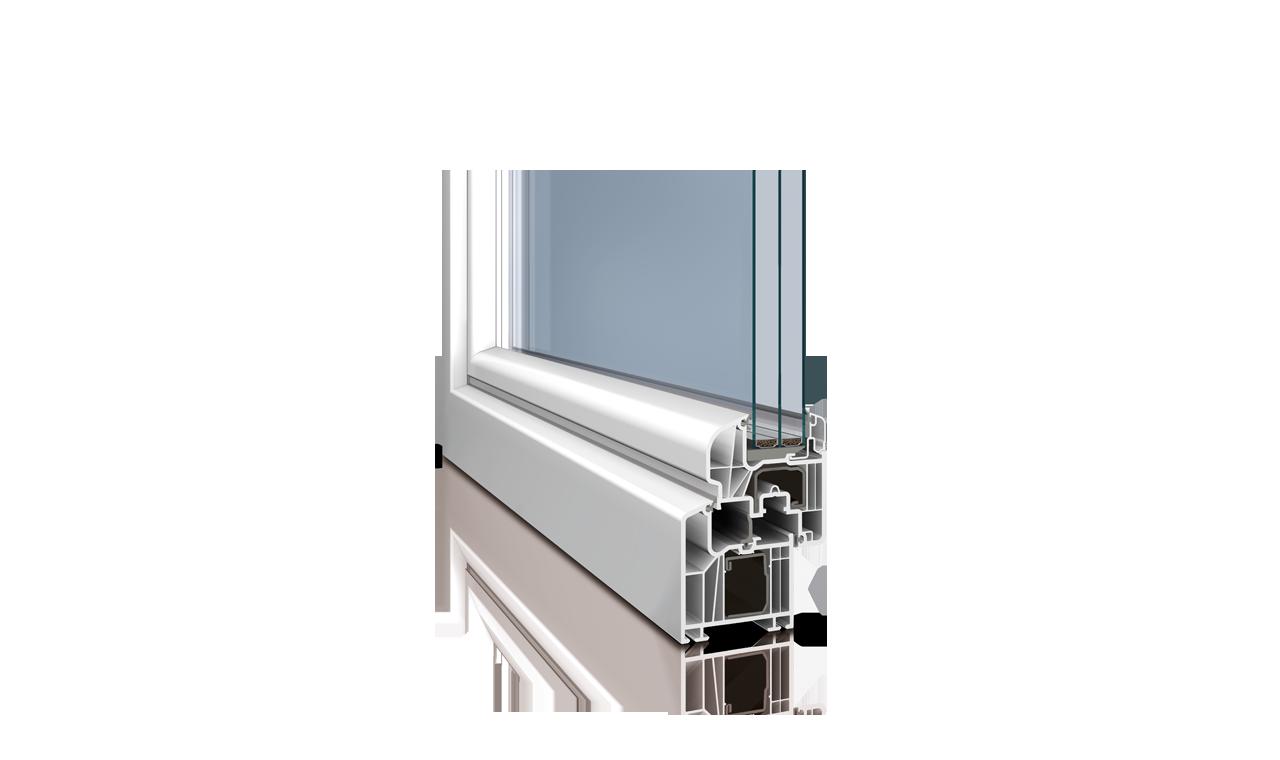 Kunststofffenster zitzelsberger for Kunststofffenster rund